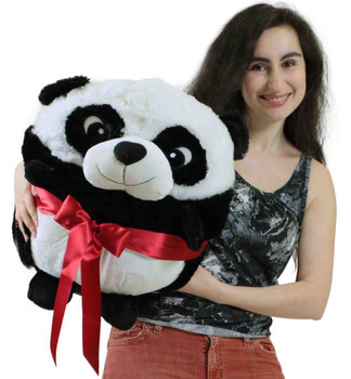 Big Plush Panda Smush Ball Soft 24 Inches Soft Stuffed Animal Plushie