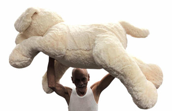 Big Plush® Giant Stuffed Labrador Retriever Dog 4 Feet Long Soft 48 inches 122 cm