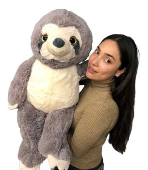 3 foot stuffed sloth