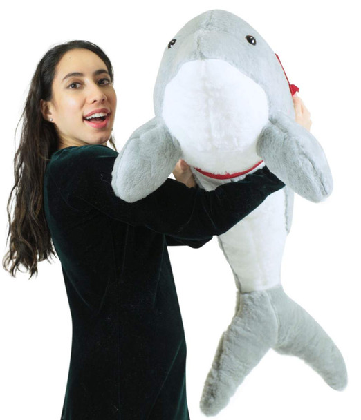 American Made Giant Stuffed Dolphin 46 Inch Soft Plush Made in USA