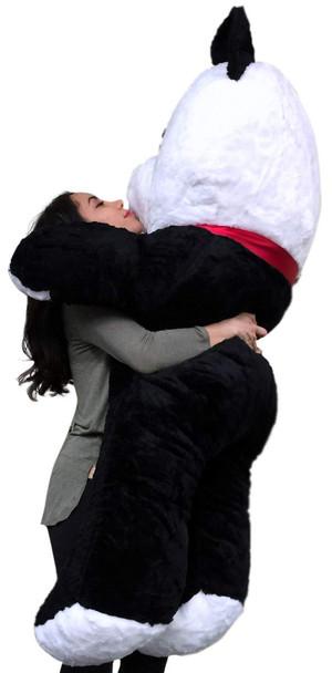 American Made Giant Stuffed Panda 54 Inch Soft Big Plush Bear Made in USA, Weighs 15 Pounds