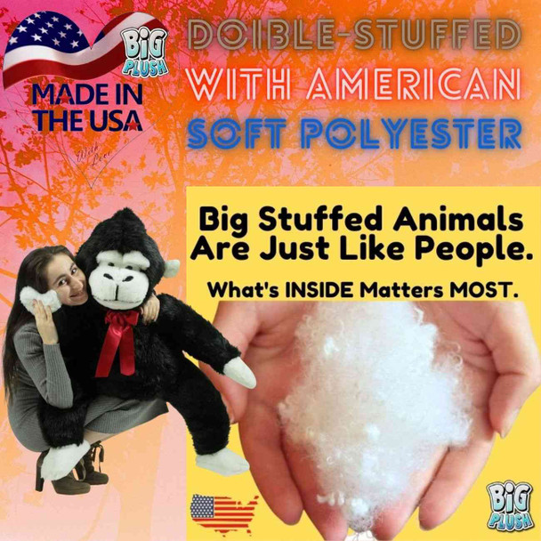 Big stuffed animals are just like people; what's inside matters most.