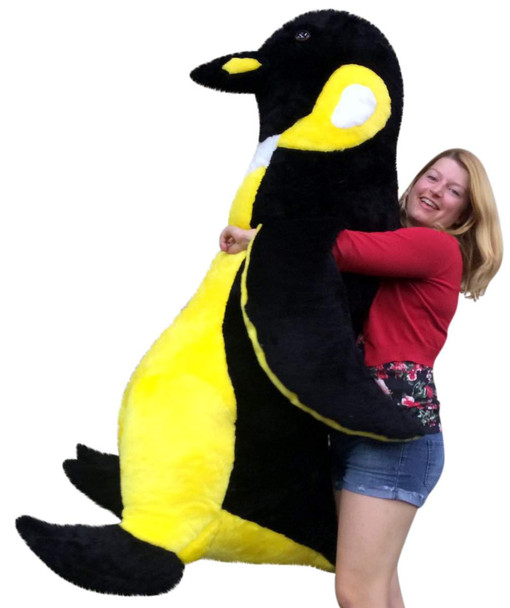 Giant Stuffed Penguin 5 Feet Tall Made in the USA by Big Plush