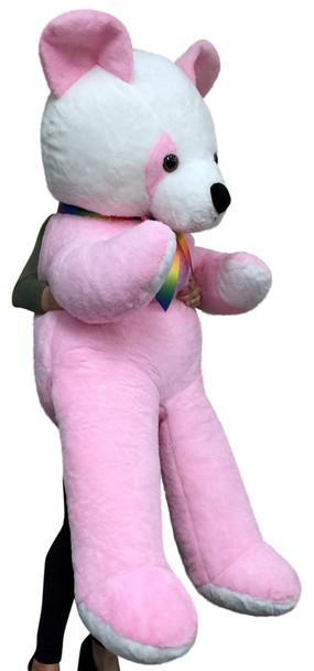 American Made Giant Soft Stuffed Pink Panda 6 Foot Bear 72 Inch Made in USA