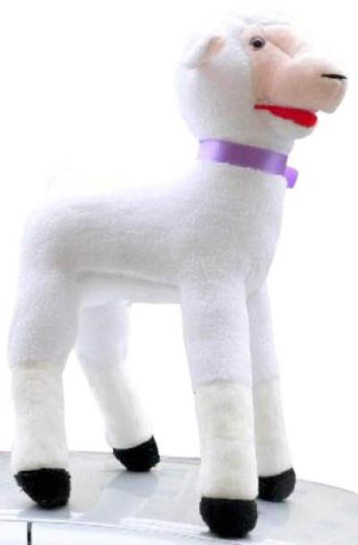 American Made Giant Stuffed Lamb 34 Inch Soft Plush Sheep Made in USA