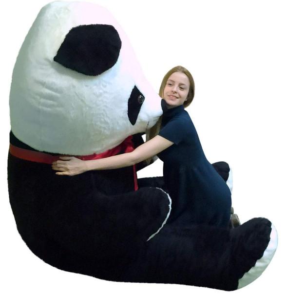 Giant 8 Foot Stuffed Panda Bear Soft 96 Inch Teddy bear Made in USA