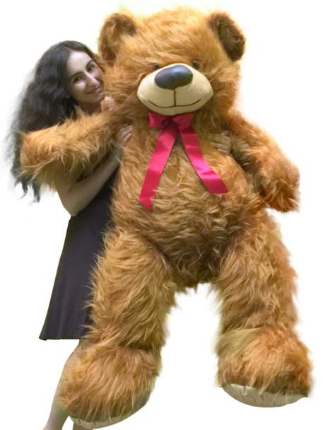 American Made 5 Foot Giant Brown Teddy Bear 60 Inch Soft Big Plush