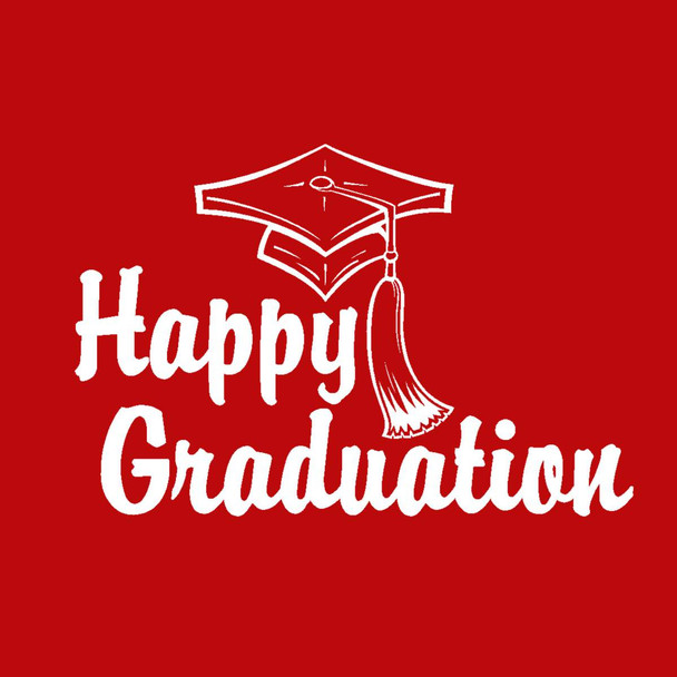 It's FREE to ADD this T-Shirt Design HAPPY GRADUATION and We'll Dress-Up your Stuffed Animal in this T-Shirt