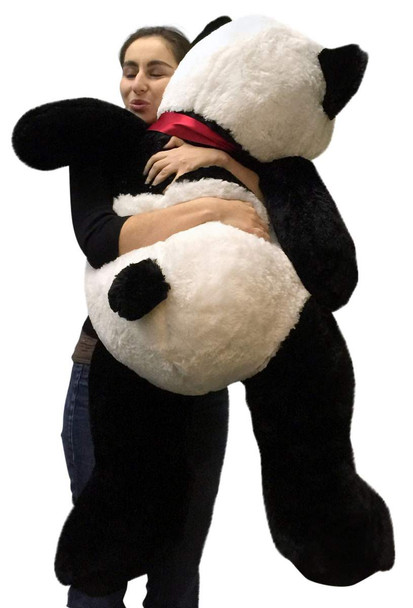 Big Stuffed Panda 48 Inch Soft Large 4 Foot Teddy Bear Big Plush Animal