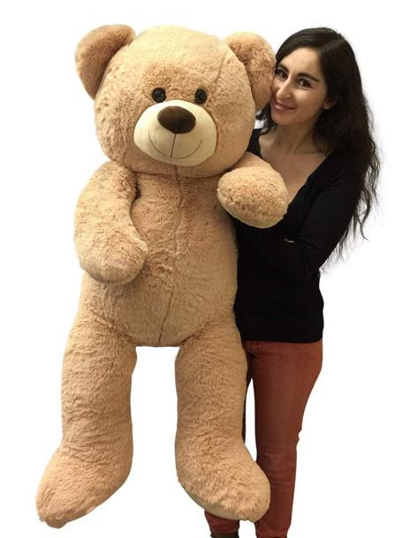 4ft teddy bear beige color