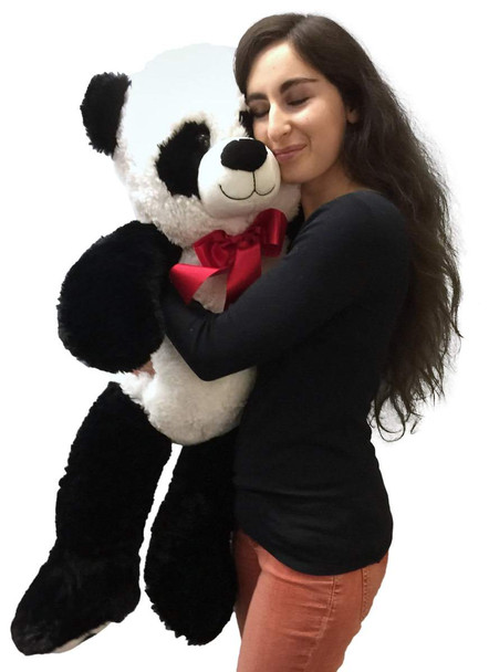 Big Stuffed Panda 36 Inches Soft Large 3 Foot Big Plush Animal