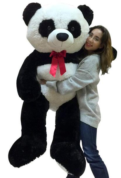 Giant stuffed panda 5 feet tall