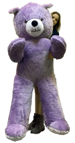 American Made 6 Foot Giant Light Purple Teddy Bear Soft 72 Inch Life Sized Stuffed Animal