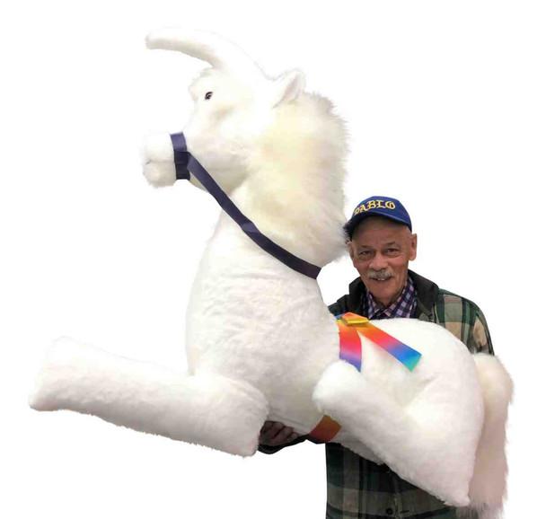 Huge stuffed unicorn made in the USA