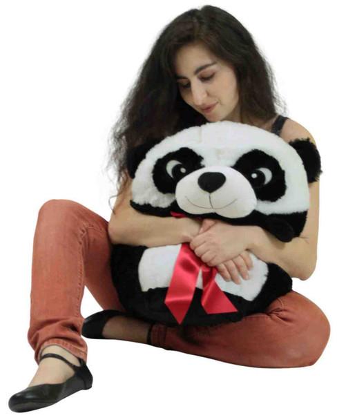 Big Plush Panda Smush Ball Soft 24 Inches Soft Stuffed Animal Plushie