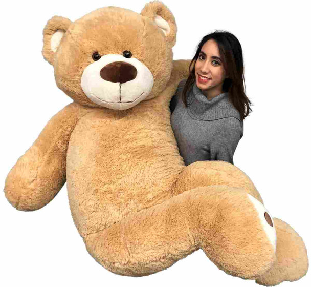 Big Plush Huge 6 Foot Teddy Bear 72 inches tall is soft and very huggable