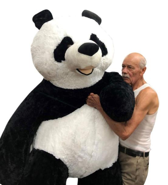 Giant Stuffed Panda 7 Feet Tall 84 Inches Soft 213 cm Big Plush Huge Stuffed Animal