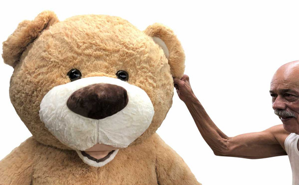 Big Plush® 7 Foot giant teddy bear is stuffed in the USA with pillow-soft stuffing. Makes a great gift. 6