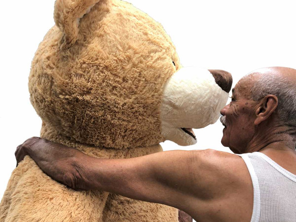 Big Plush® 7 Foot giant teddy bear is stuffed in the USA with pillow-soft stuffing. Makes a great gift. 4
