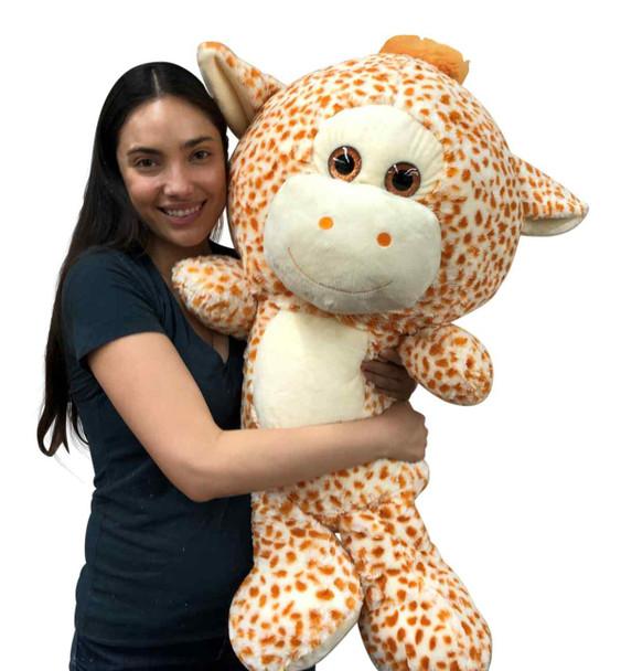 Big Stuffed Giraffe soft plush 42 inches