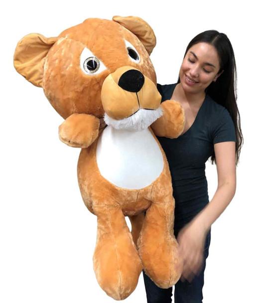 Big Plush®  Giant Stuffed Lion Cub 36 Inches 91 cm Soft Big Plush Wild Cat Three Feet Tall New