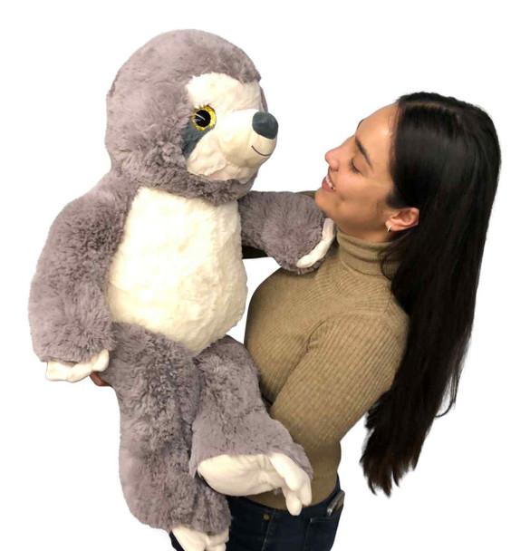3 feet tall soft stuffed Sloth