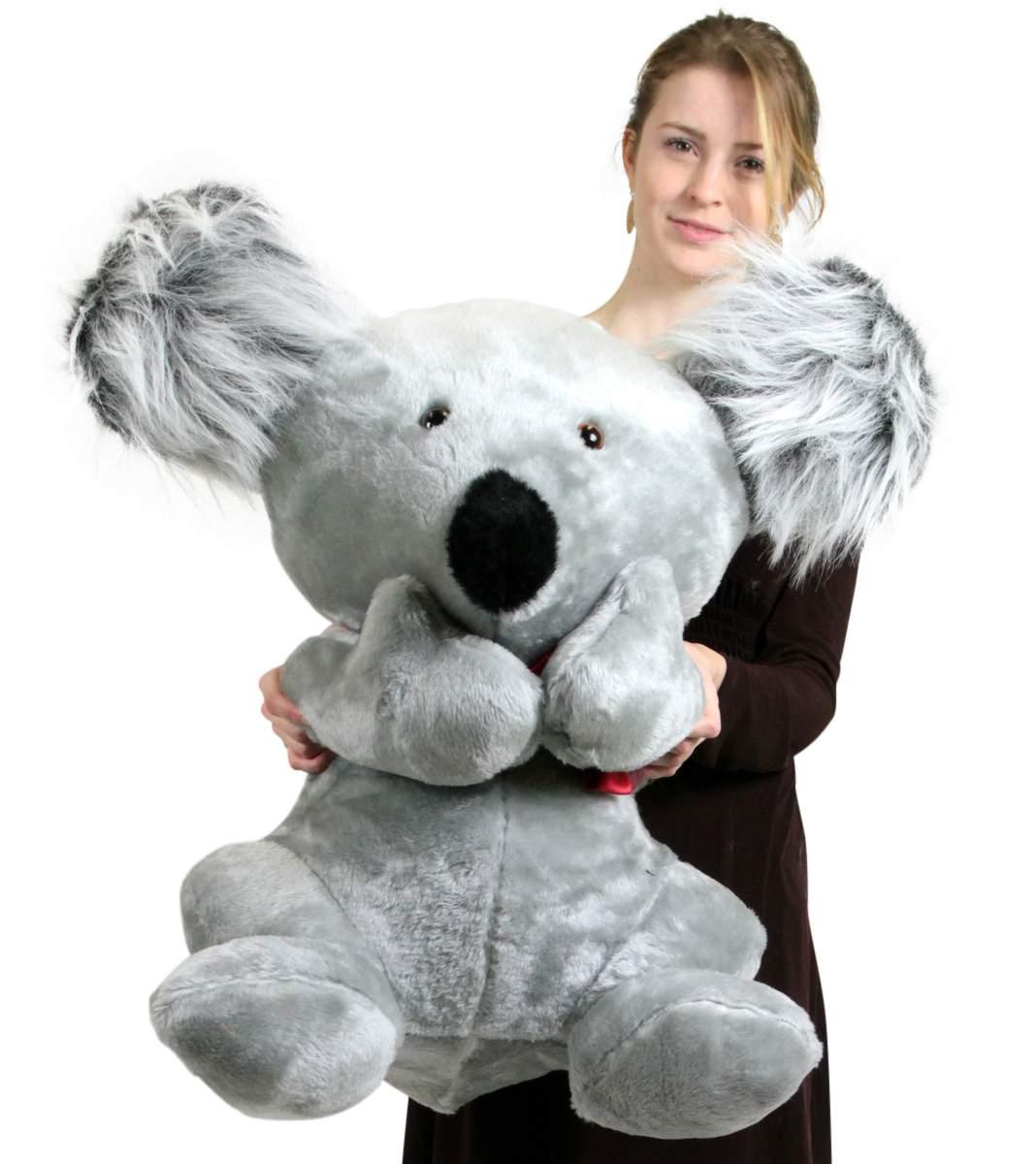 American Made Large Stuffed Koala Bear 26 Inches Soft Big Plush