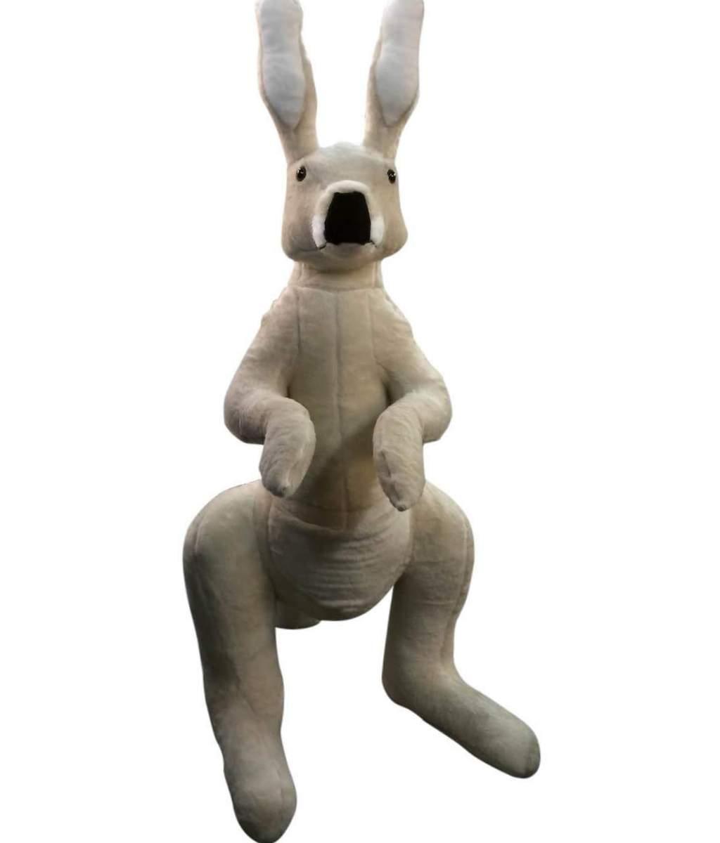 Big Plush 6 Foot Kangaroo Soft 72 Inch Stuffed Animal Made In Usa