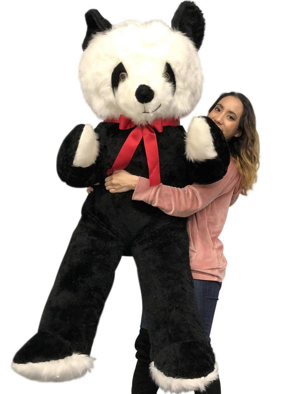 Big Plush 6 Foot Stuffed Panda Bear Giant Six Feet Tall Teddy Bear