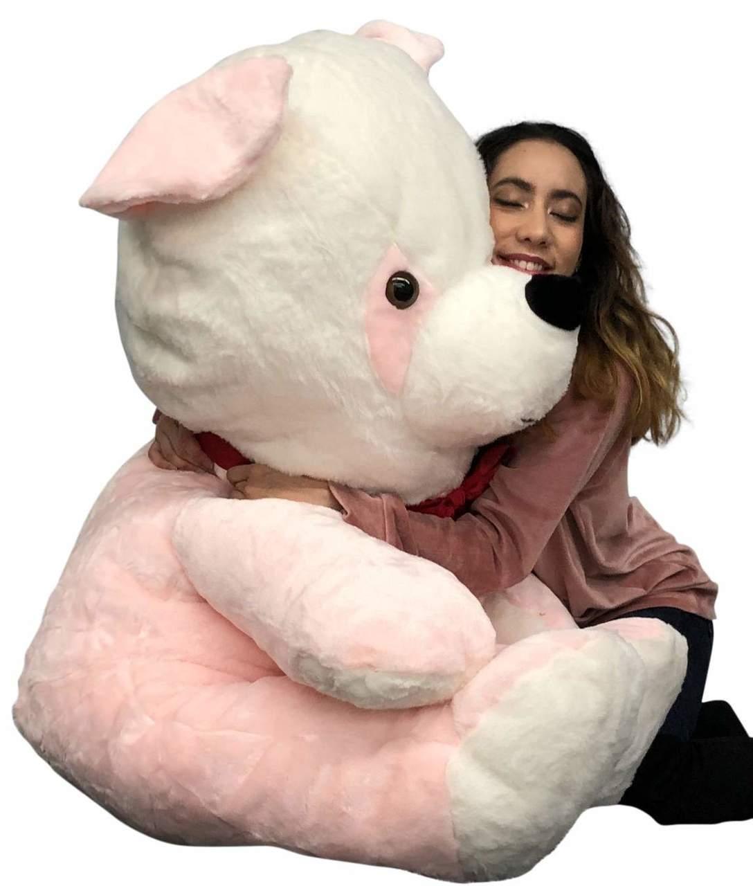 5c9a42afaf4 Big Plush Pink Stuffed Panda Bear