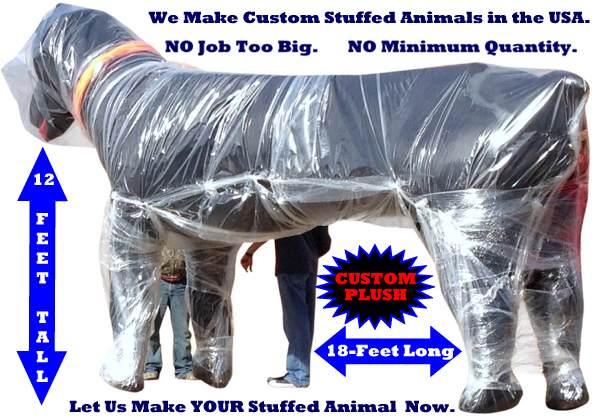 Bigplush Com Makes Custom Plush Stuffed Animal Toys Made In Usa