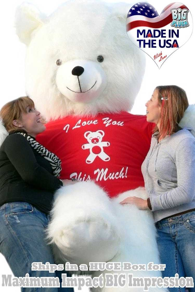 Celebrate Valentines Day with the BIGGEST Teddy Bears in the world!