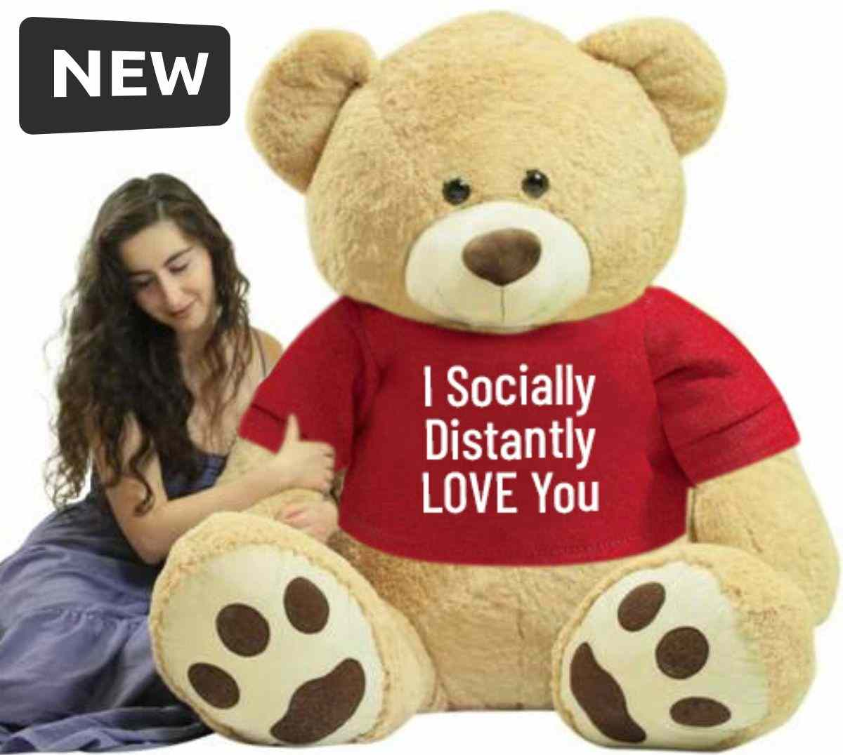 New Social Distancing Gifts Category at Big Plush giant stuffed animals