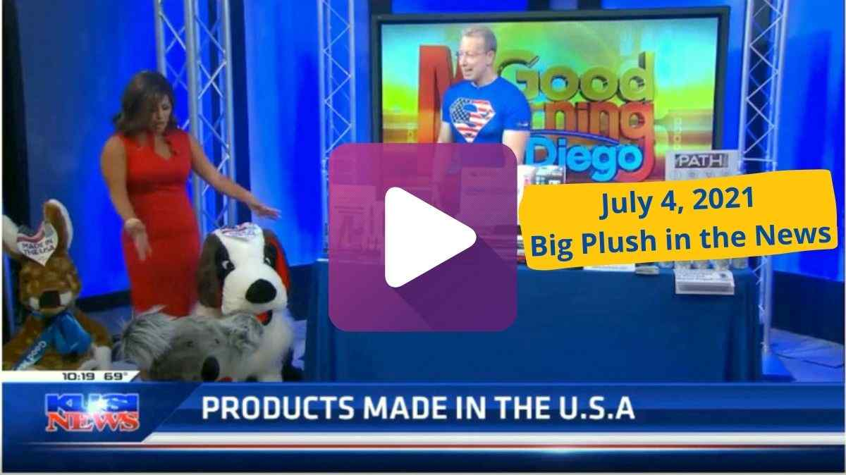 Big Plush may be the last remaining American stuffed animal manufacturer making stuffed animals in the USA with American materials