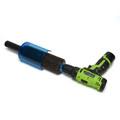 XCMAN Rotory Brush For Waxing Snowboard 200mm Length Nylon and Horsehiar Rotory Brhsh