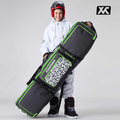 XCMAN Roller Snowboard Bag with Wheels