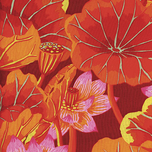 Kaffe Fassett Lake Blossoms GP93.red