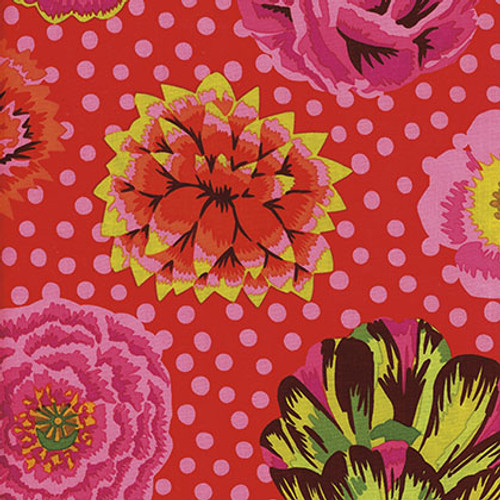 Big Blooms, GP91 Kaffe Fassett Classic Colour: Red