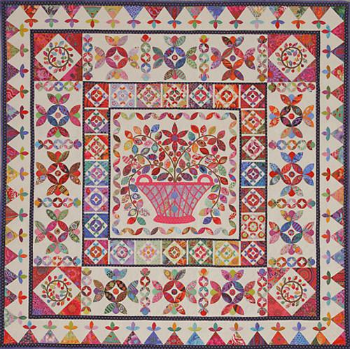 Flower Basket Medallion Quilt Pattern Kim McLean