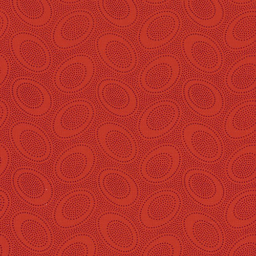 Aboriginal Dot GP71-Red Kaffe Fassett Classic