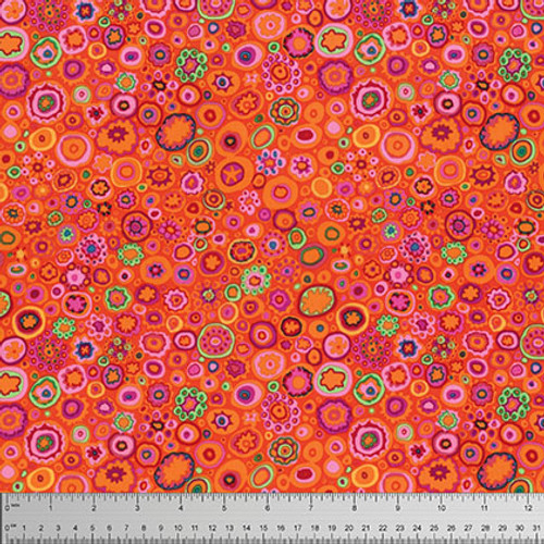 Paperweight- Red, Kaffe Fassett, per 1/2 yard