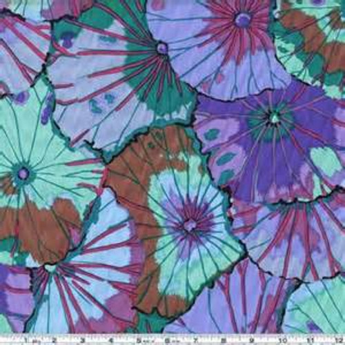 Lotus Leaf Kaffe Fassett Classic Colour: Blue