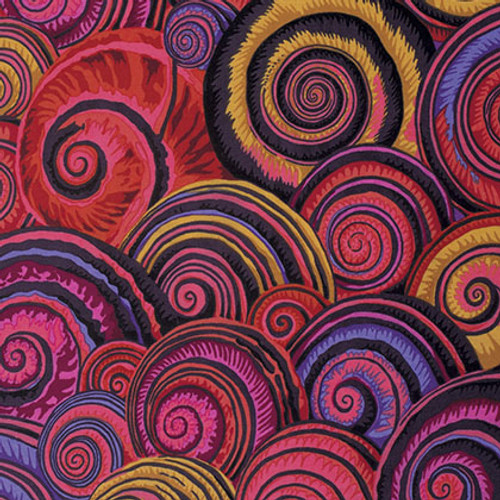 Spiral Shells Philip Jacobs Colour: Red