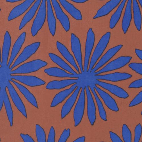 Gerbera Artisan Collection by Kaffe Fassett Colour: Brown