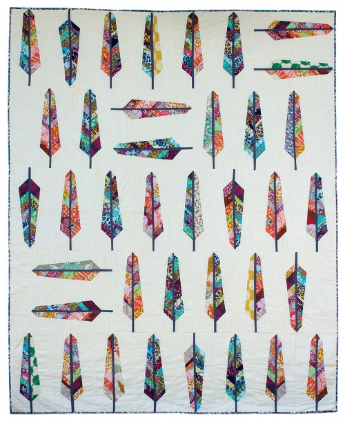 Feather Bed Quilt Pattern by Anna Maria Horner