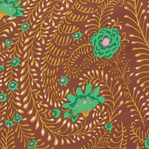 Kaffe Fassett Spring 2017 Pattern: Ferns Colour: Brown