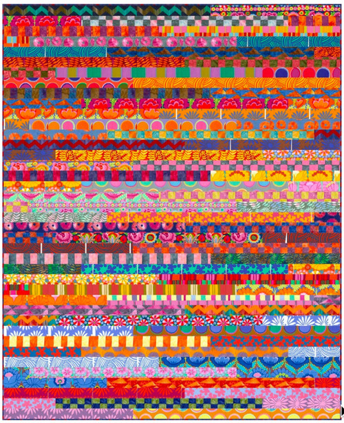 Stripes Pattern Featuring the Artisan Collection by Kaffe Fassett