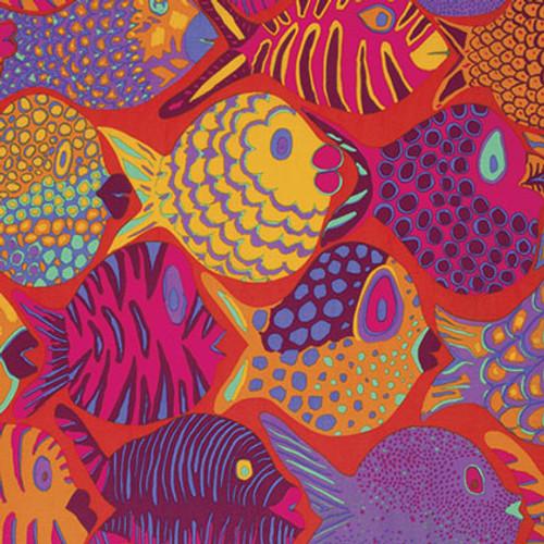 Pattern:Shoal Colour: Tomato Designer: Brandon Mably