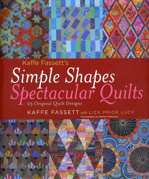Kaffe Fassett's 'Simple Shapes - Specatular Quilts' Book