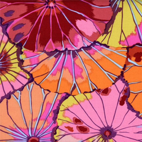 Lotus Leaf Kaffe Fassett Classic Colour: Red